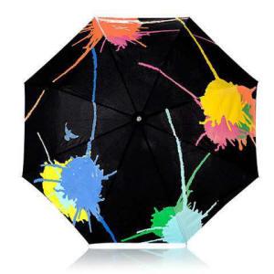 Le parapluie qui change de couleur