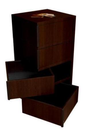 Meuble wenge jeux de 7 familles - Meuble escalier wenge ...